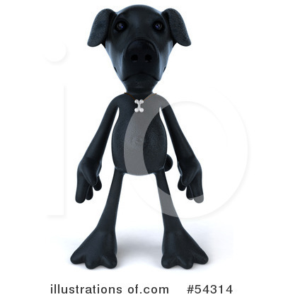Doggy Character Clipart #54314 by Julos