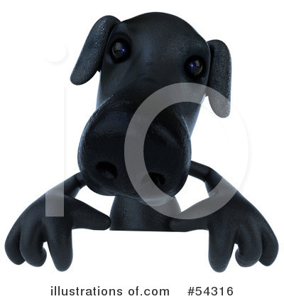 Black Lab Clipart #54316 by Julos