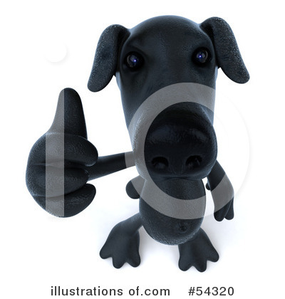 Black Lab Clipart #54320 by Julos