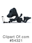 Black Lab Clipart #54321 by Julos