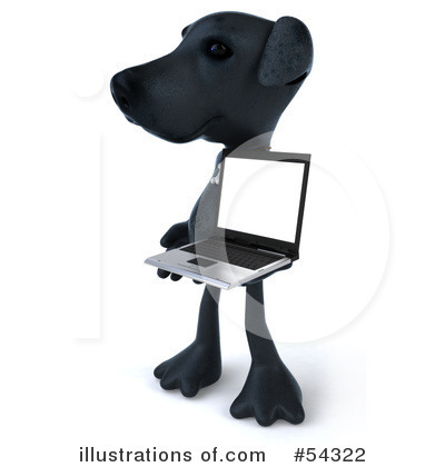 Black Lab Clipart #54322 by Julos