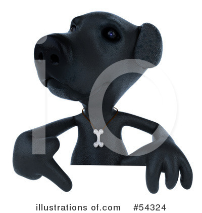 Black Lab Clipart #54324 by Julos