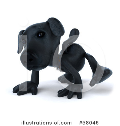 Black Lab Clipart #58046 by Julos