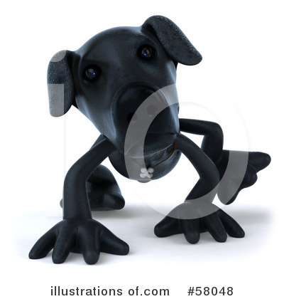 Black Lab Clipart #58048 by Julos
