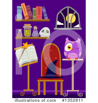 Witch Clipart #1352811 by BNP Design Studio