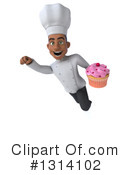 Black Male Chef Clipart #1314102 by Julos