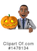Black Male Doctor Clipart #1478134 by Julos
