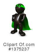 Black Man Clipart #1375237 by KJ Pargeter