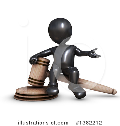 Gavel Clipart #1382212 by KJ Pargeter