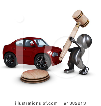 Gavel Clipart #1382213 by KJ Pargeter