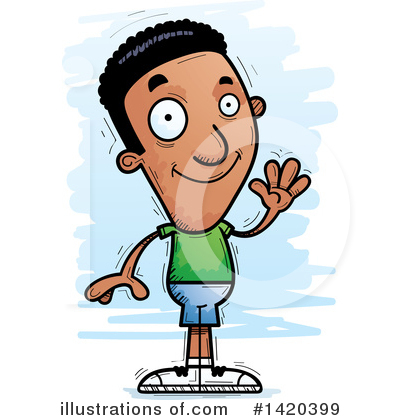 Black Man Clipart #1420399 by Cory Thoman