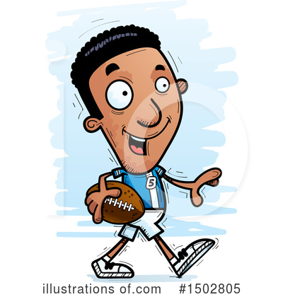 Football Clipart #1502805 by Cory Thoman