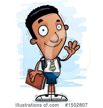 Black Man Clipart #1502807 by Cory Thoman
