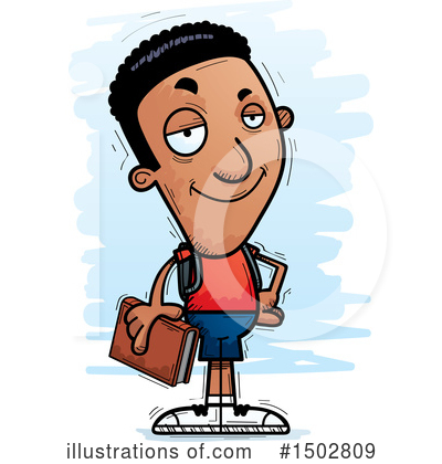 Black Man Clipart #1502809 by Cory Thoman