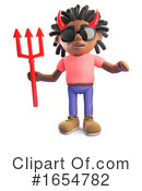 Black Man Clipart #1654782 by Steve Young