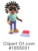Black Man Clipart #1655031 by Steve Young