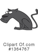 Black Panther Clipart #1364767 by toonaday