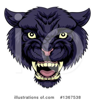 Panther Clipart #1367538 by AtStockIllustration