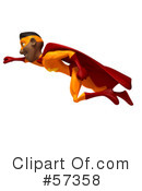 Black Superhero Clipart #57358 by Julos
