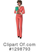 Black Woman Clipart #1298793 by Liron Peer