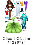 Black Woman Clipart #1298794 by Liron Peer