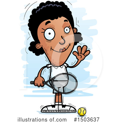 Tennis Clipart #1503637 by Cory Thoman