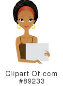 Black Woman Clipart #89233 by Melisende Vector