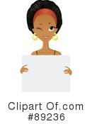 Black Woman Clipart #89236 by Melisende Vector