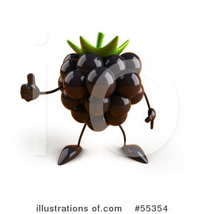 Blackberry Clipart #55354 by Julos