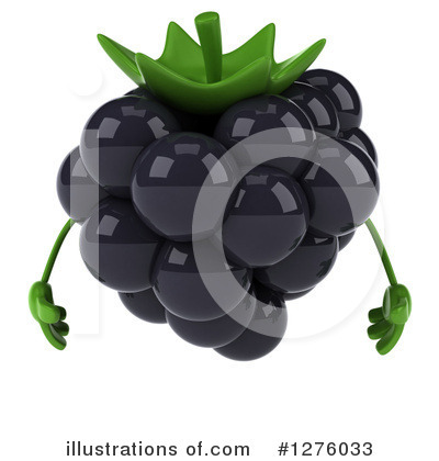 Blackberry Clipart #1276033 by Julos