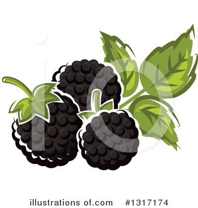 Berry Clipart #1317174 by Vector Tradition SM