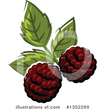 Berry Clipart #1352260 by Vector Tradition SM