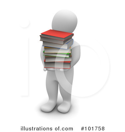 Book Clipart #101758 by Jiri Moucka