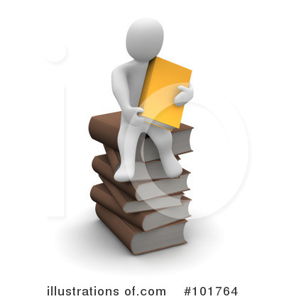 Book Clipart #101764 by Jiri Moucka