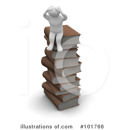 Book Clipart #101766 by Jiri Moucka