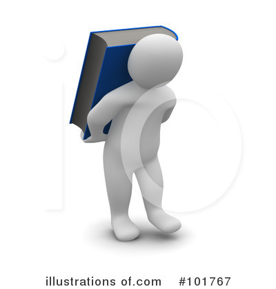 Book Clipart #101767 by Jiri Moucka