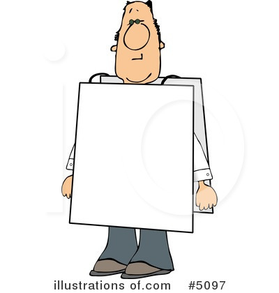 blank sign clipart 5097 illustration by djart rh illustrationsof com blank caution sign clipart blank wood sign clipart