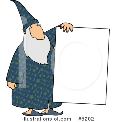 Wizard Clipart #5202 by djart