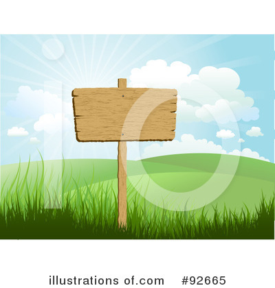 Wooden Sign Clipart #92665 by KJ Pargeter