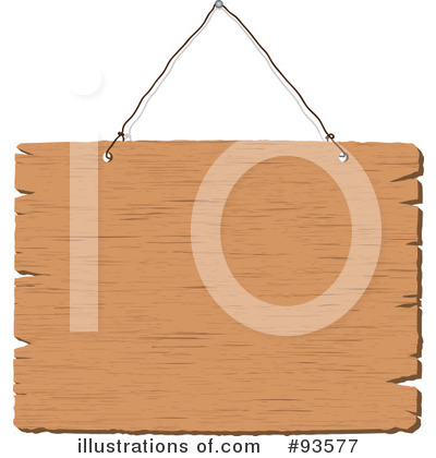 Wooden Sign Clipart #93577 by KJ Pargeter