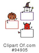 Royalty-Free (RF) Blank Sign Clipart Illustration #94905