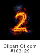 Blazing Symbol Clipart #103129 by Michael Schmeling