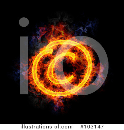 Blazing Symbol Clipart #103147 by Michael Schmeling