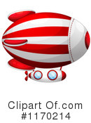 Blimp Clipart #1170214 by Graphics RF