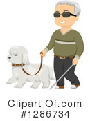 Blind Clipart #1286734 by BNP Design Studio