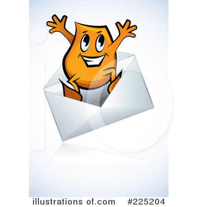 Envelope Clipart #225204 by MilsiArt