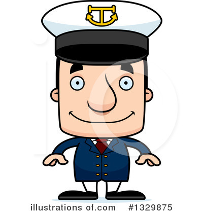 Captain Clipart #1329875 by Cory Thoman