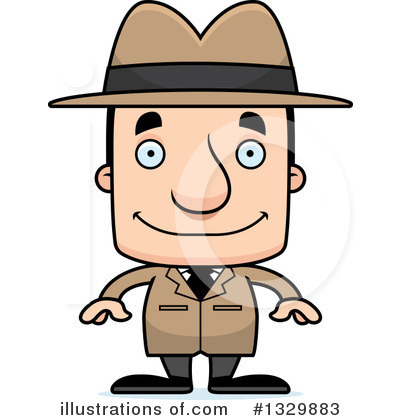 Detective Clipart #1329883 by Cory Thoman