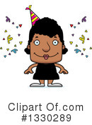 Block Headed Black Woman Clipart #1330289 by Cory Thoman