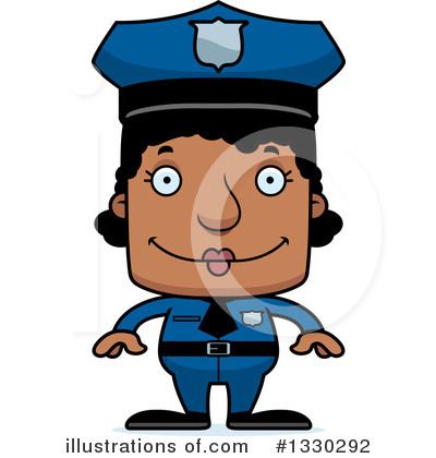 Police Man Clipart #1330292 by Cory Thoman